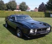 Alain Perreault / Mustang Mach 1 1973