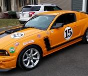 Patrick Guay / Mustang Saleen Parnelli Jones S302 2007