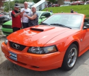 Mustang GT 2001 / Luc Berrourard