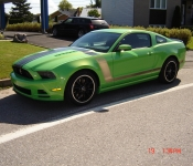 Richard Martel / Mustang Boss 302 2013