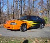 Mustang GT 1991 / Yvon Legeault