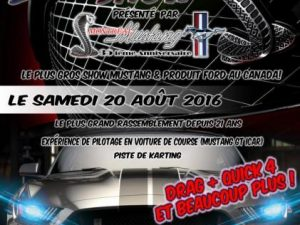super show montreal mustang 2016
