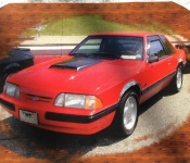 Jean-Pierre Bégin / Mustang LX 1990