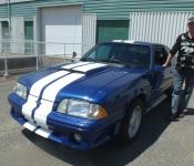 Serge Bégin / Mustang GT 1989