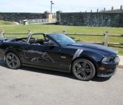 Michel Bourbeau, vice-président relation aux membres / Mustang GT/CS 5.0 2014