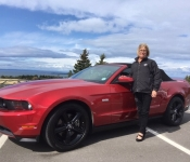 Line Gaudreau / Mustang GT 5.0 2011